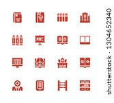 learning icon set. collection...   Shutterstock .eps vector #1304652340