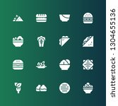lettuce icon set. collection of ...   Shutterstock .eps vector #1304655136