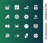 match icon set. collection of... | Shutterstock .eps vector #1304663743