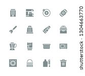 household icon set. collection... | Shutterstock .eps vector #1304663770