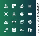 join icon set. collection of 16 ... | Shutterstock .eps vector #1304670736