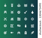 hit icon set. collection of 25...   Shutterstock .eps vector #1304673490