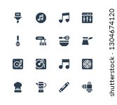mixer icon set. collection of... | Shutterstock .eps vector #1304674120
