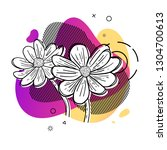 template design print with... | Shutterstock .eps vector #1304700613