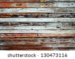Vintage Wood Panel From Old...