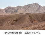 Mountains In Desert