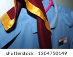 scouting or the scout movement... | Shutterstock . vector #1304750149