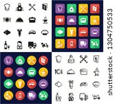catering business icons all in... | Shutterstock .eps vector #1304750533