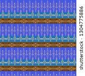 tribal art pattern. ethnic... | Shutterstock .eps vector #1304775886