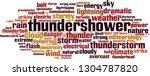 thundershower word cloud... | Shutterstock .eps vector #1304787820