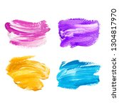 hand painted backgrounds for... | Shutterstock . vector #1304817970