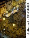 zagreb  croatia   november 30 ...   Shutterstock . vector #1304889823