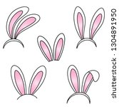 vector eps10 illustration with... | Shutterstock .eps vector #1304891950