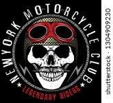 skull t shirt graphic design | Shutterstock . vector #1304909230
