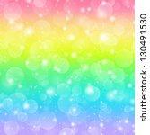 Rainbow Holiday Background Wit...