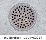 sewer riser with perforation... | Shutterstock . vector #1304963719