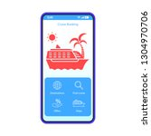 cruise booking app smartphone...