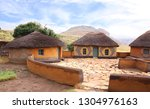 Basotho Tribe Village. Clay...