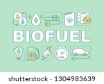 biofuel word concepts banner....