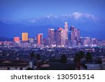 Downtown Los Angeles Skyline...