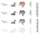 vector design of mammal and...   Shutterstock .eps vector #1305018370