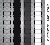 cinema vector template. movie... | Shutterstock .eps vector #1305019006