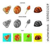 vector design of confectionery... | Shutterstock .eps vector #1305021319
