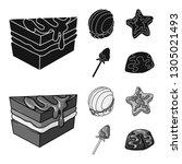 vector design of confectionery... | Shutterstock .eps vector #1305021493