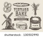 baguette,bake,bakery,bread,british,bun,drawing,ecologic,engraving,equipment,farm,flour,grain,health,illustration