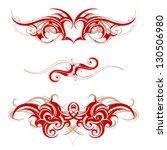 tribal tattoo | Shutterstock .eps vector #130506980