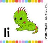 animal alphabet. zoo abc....   Shutterstock .eps vector #1305122443
