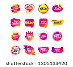 sale banner templates design.... | Shutterstock .eps vector #1305133420
