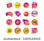 sale banner templates design.... | Shutterstock .eps vector #1305133423