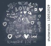 Blackboard Romantic Set In...