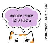 vector template for t shirt for ...   Shutterstock .eps vector #1305190009
