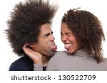happy couple | Shutterstock . vector #130522709