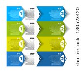 modern design template  ... | Shutterstock .eps vector #130523420