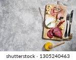 italian antipasto with...   Shutterstock . vector #1305240463