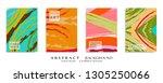 abstract universal grunge art... | Shutterstock .eps vector #1305250066