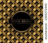 luxury premium background with... | Shutterstock .eps vector #1305272443