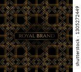 luxury premium background with... | Shutterstock .eps vector #1305272449