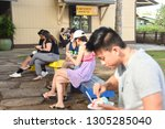 north shore  hawaii usa  ...   Shutterstock . vector #1305285040