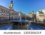 madrid  spain   january 22 ... | Shutterstock . vector #1305306319