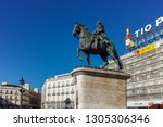 madrid  spain   january 22 ... | Shutterstock . vector #1305306346
