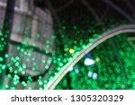 blurred night life in city.... | Shutterstock . vector #1305320329
