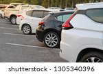 closeup of back or rear side of ... | Shutterstock . vector #1305340396