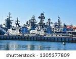 vladivostok  russia  january ... | Shutterstock . vector #1305377809