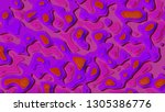 background in paper style.... | Shutterstock . vector #1305386776
