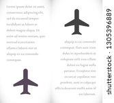 aircraft vector icon