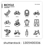 bicycle icon for website ... | Shutterstock .eps vector #1305400336